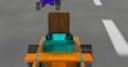 Jeu 8 bits 3D racing