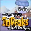 Jeu Crystal TriPeaks Solitaire en plein ecran
